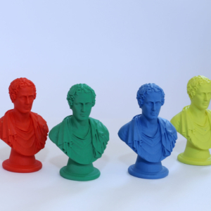 Set of 4 busts of Lord Byron
