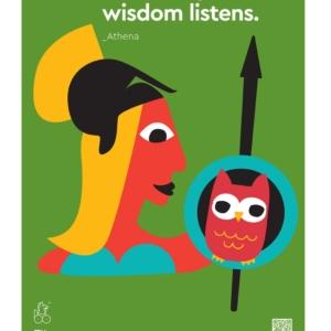 POSTER ATHENA 'Greeks said it first'